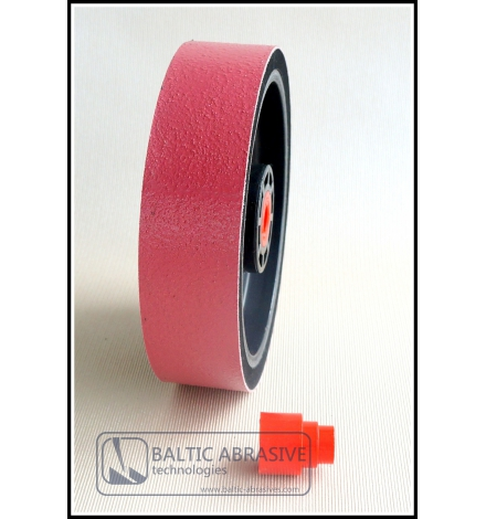 Grit: 3000, 8 inch SOFT lapidary diamond wheel