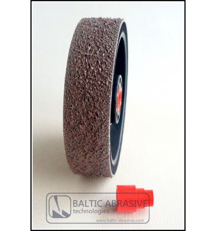 Grit: 600, 6 inch SOFT PREMIUM REZ diamond wheel