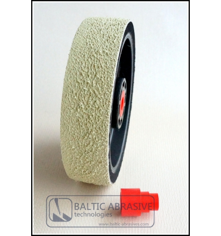 Grit: 1200, 6 inch SOFT PREMIUM REZ diamond wheel