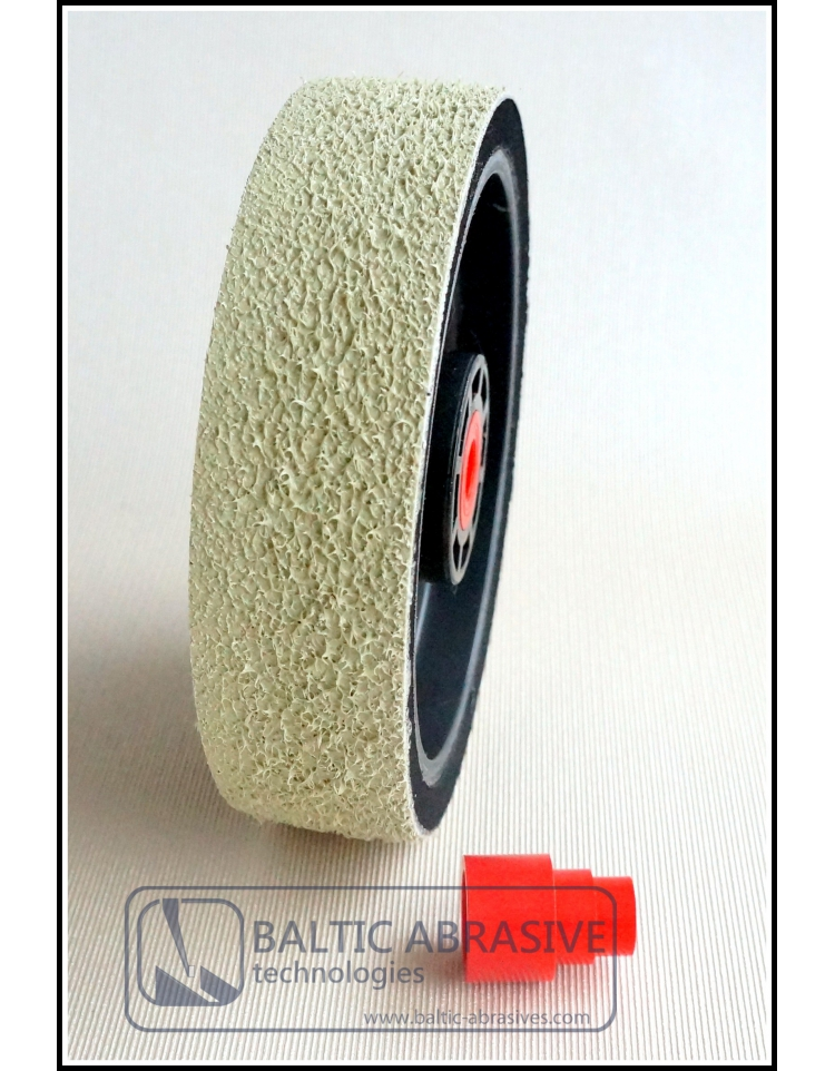 Grit: 1200, 6 inch SOFT PREMIUM REZ diamond wheel