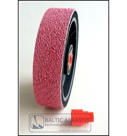 Grit: 3000, 6 inch SOFT PREMIUM REZ diamond wheel