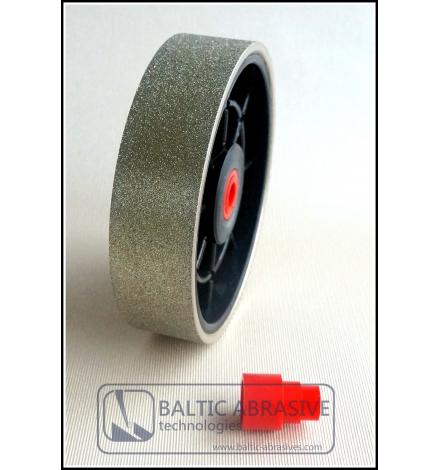 6 inch hard lapidary diamond wheel, grit: 180