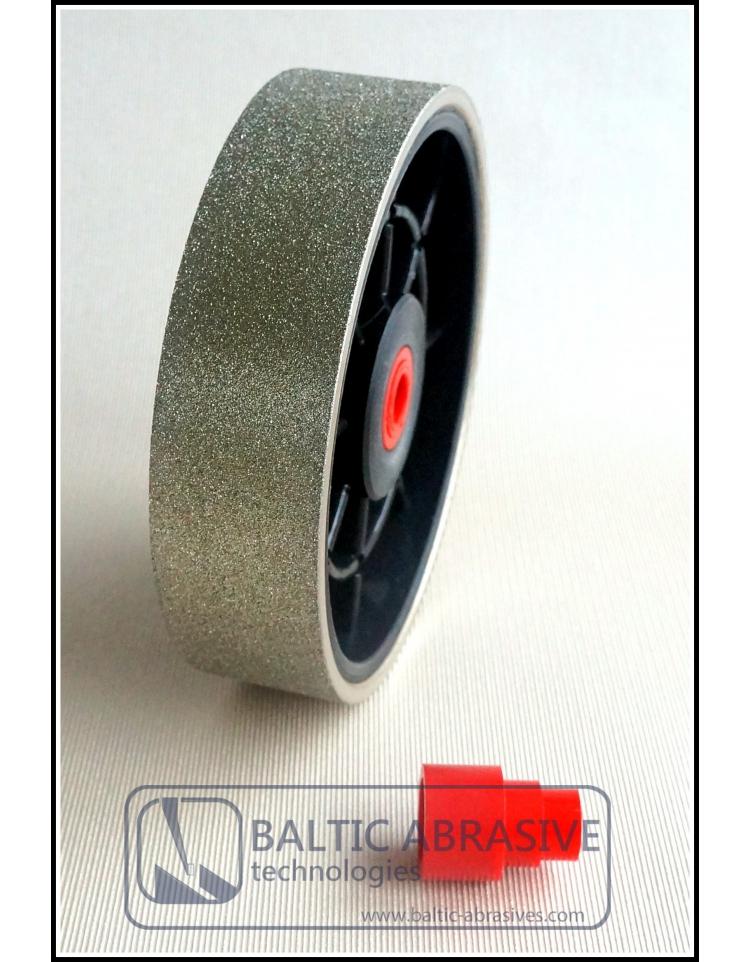 TOP 6 grit 220 lapidary diamond cabbing polishing grinding wheel 220grit