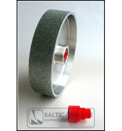 6 inch hard lapidary steel diamond wheel, grit: 600